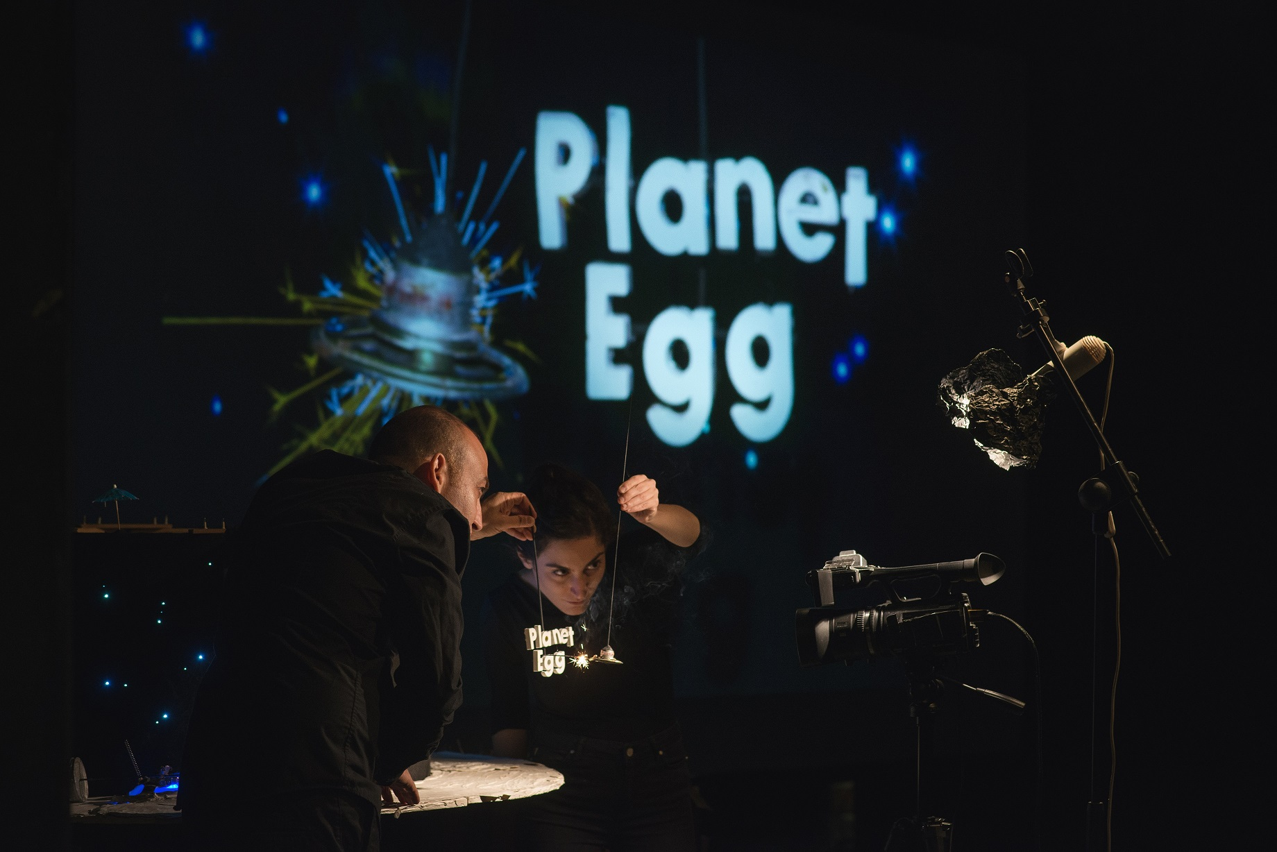 Planet Egg PuppetCinema. Photo Yair Meyuhas 3